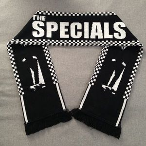 Accessories - RARE! The Specials 2 Tone Ska Football Scarf